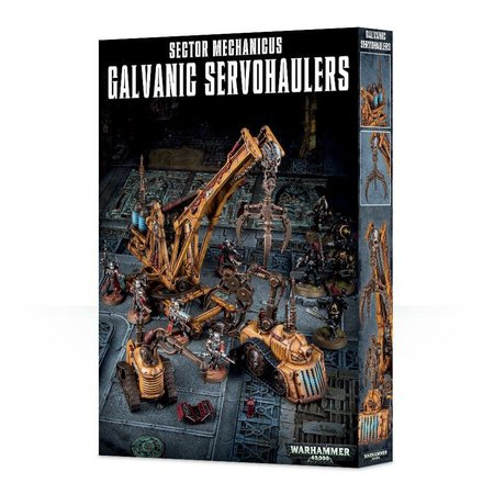 Games Workshop Warhammer 40,000 Terrain: Sector Mechanicus - Galvanic Servohaulers