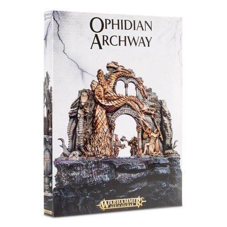 Games Workshop Age of Sigmar Terrain: Ophidian Archway