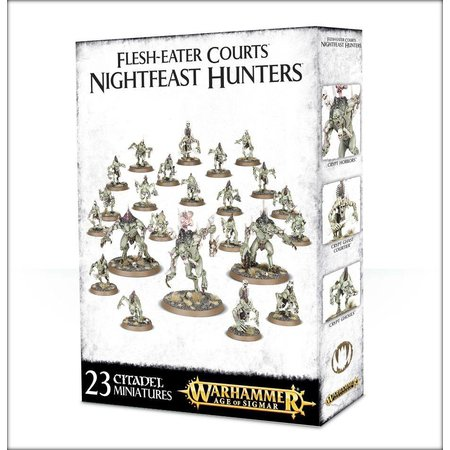 Games Workshop Age of Sigmar Flesh-Eater Courts Start Collecting Set: Nightfeast Hunters