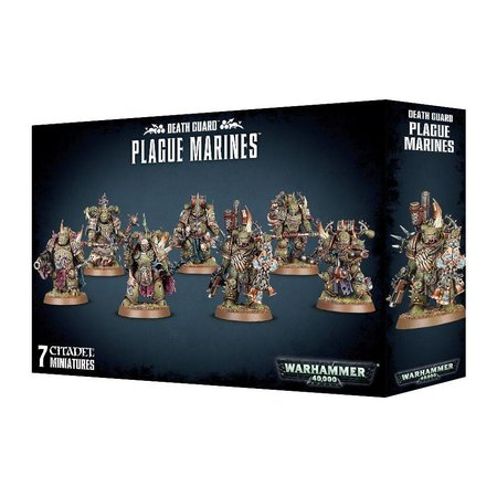 Games Workshop Warhammer 40,000 Chaos Heretic Astartes Death Guard: Plague Marines