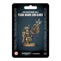 Warhammer 40,000 Chaos Heretic Astartes Death Guard: Plague Marine Icon Bearer