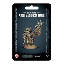Warhammer 40,000 Chaos Heretic Astartes Death Guard: Plague Marine Icon Bearer
