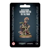 Warhammer 40,000 Chaos Heretic Astartes Death Guard: Scribbus Wretch, the Tallyman