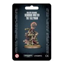 Warhammer 40,000 Chaos Heretic Astartes Death Guard: Scribbus Wretch, the Tallyman