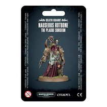 Warhammer 40,000 Chaos Heretic Astartes Death Guard: Nauseous Rotbone, the Plague Surgeon