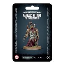 Warhammer 40,000 Chaos Heretic Astartes Death Guard: Nauseous Rotbone, the Plague Surgeon