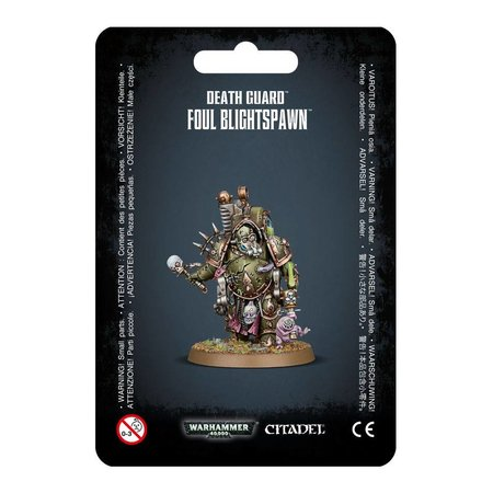 Games Workshop Warhammer 40,000 Chaos Heretic Astartes Death Guard: Foul Blightspawn