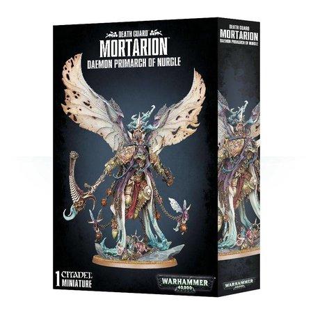 Games Workshop Warhammer 40,000 Chaos Heretic Astartes Death Guard: Mortarion, Daemon Primarch of Nurgle