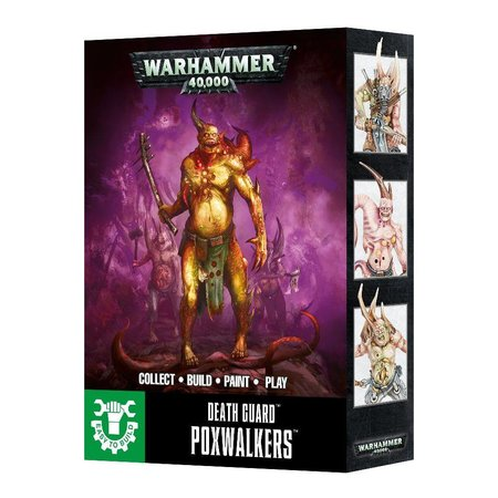 Games Workshop Warhammer 40,000 Chaos Heretic Astartes Death Guard: Poxwalkers (Easy to Build)