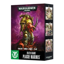 Warhammer 40,000 Chaos Heretic Astartes Death Guard: Plague Marines (Easy to Build)