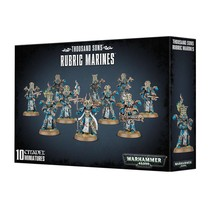 Warhammer 40,000 Chaos Heretic Astartes Thousand Sons: Rubric Marines