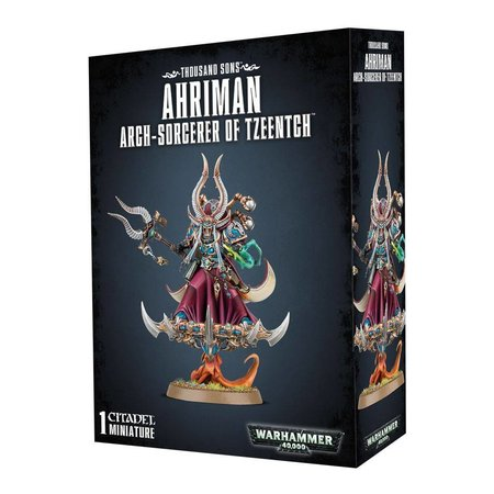 Games Workshop Warhammer 40,000 Chaos Heretic Astartes Thousand Sons: Ahriman