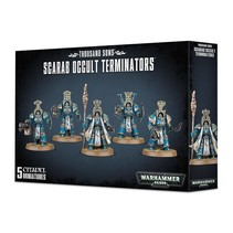 Warhammer 40,000 Chaos Heretic Astartes Thousand Sons: Scarab Occult Terminators