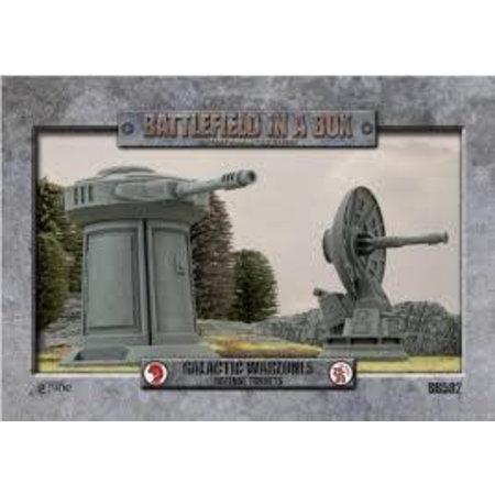 Battlefront Galactic Warzones: Defense Turrets