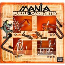 Puzzle Mania (Oranje) metal puzzles (Casse-Tetes)