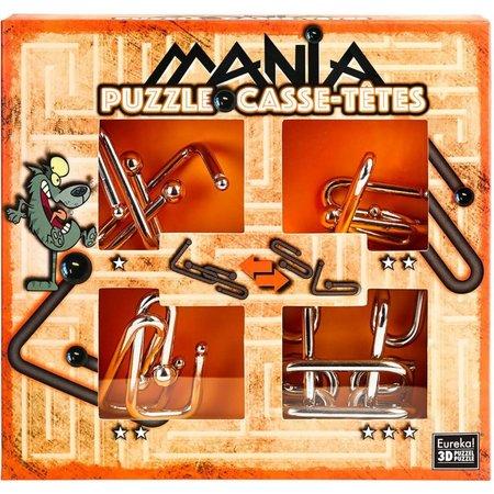 Eureka Puzzle Mania (Oranje) metal puzzles (Casse-Tetes)