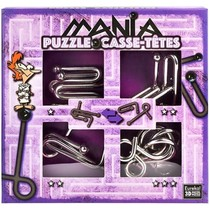 Puzzle Mania (Paars) metal puzzles (Casse-Tetes)