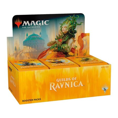 Wizards of the Coast Magic: the Gathering Guilds of Ravnica Booster Box