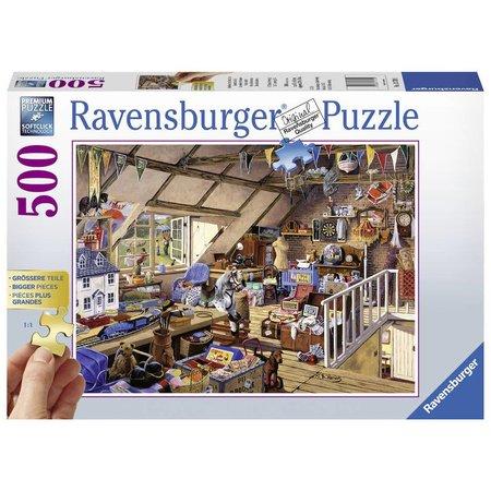 Ravensburger Oma's zolder (500XL)