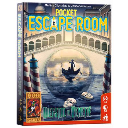 999-Games Pocket Escape Room Diefstal in Venetie