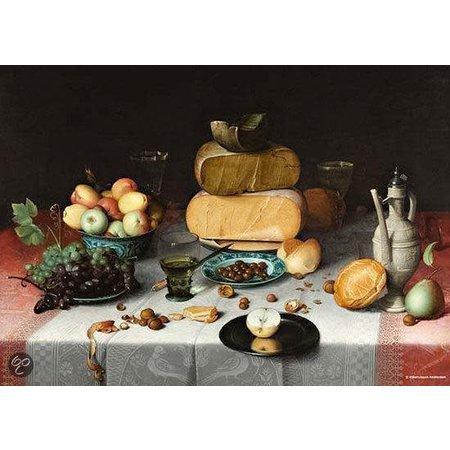 Puzzelman Rijksmuseum: Stilleven met Kazen (1000)*