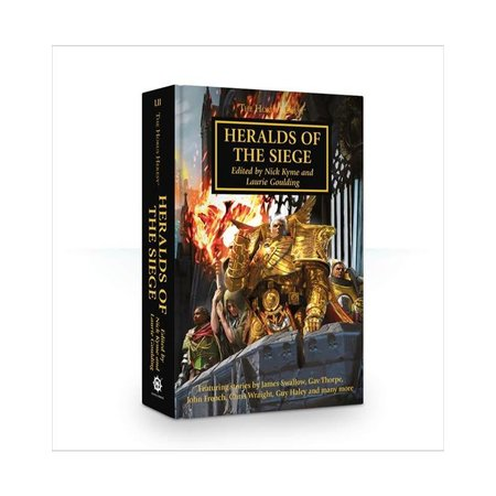 Black Library The Horus Heresy 52: Heralds of the Siege (HC)