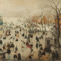 Winter - Hendrick Averkamp (Rijksmuseum) (210)