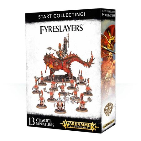 Games Workshop Age of Sigmar Duardin Fyreslayers Start Collecting Set