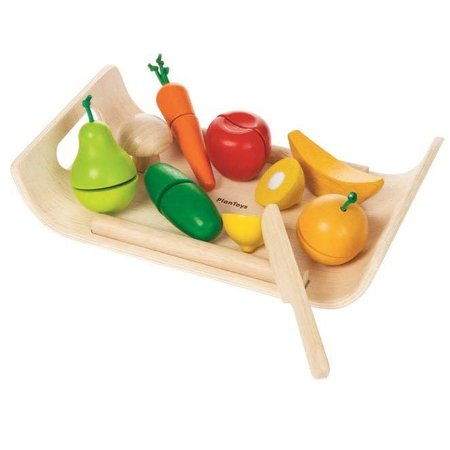 Plan Toys Assorted Fruit & Vegetable Set