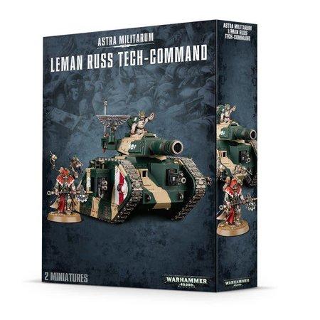 Games Workshop Warhammer 40,000 Imperium Astra Militarum: Leman Russ Tech-Command