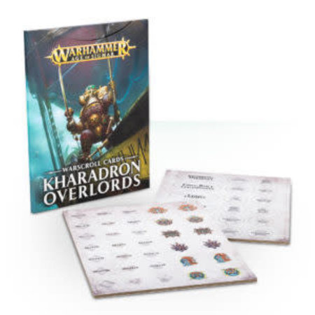 Games Workshop Age of Sigmar 2nd Edition Warscroll Cards Order: Kharadron Overlords