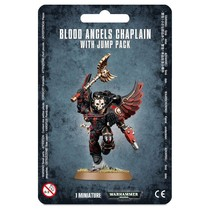 Warhammer 40,000 Imperium Adeptus Astartes Blood Angels: Chaplain with Jump Pack