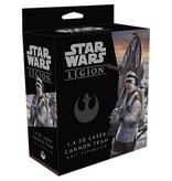Fantasy Flight Star Wars Legion: 1.4 FD Laser Cannon Team