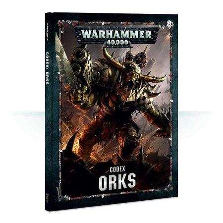 Games Workshop Warhammer 40,000 8th Edition Rulebook Xenos Codex: Orks (HC)