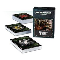 Warhammer 40,000 8th Edition Datacards Xenos: Orks
