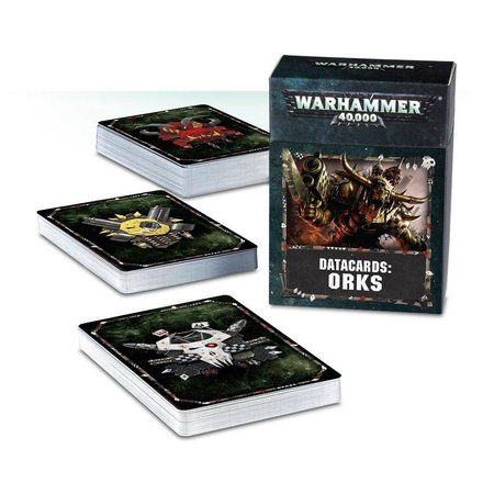 Games Workshop Warhammer 40,000 8th Edition Datacards Xenos: Orks