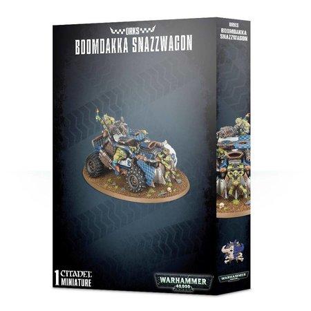 Games Workshop Warhammer 40,000 Xenos Orks: Boomdakka Snazzwagon
