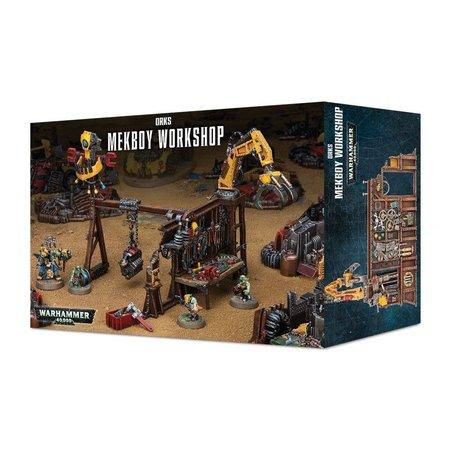 Games Workshop Warhammer 40,000 Terrain: Sector Mechanicus - Mekboy Workshop