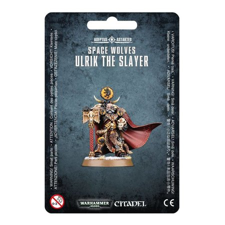 Games Workshop Warhammer 40,000 Imperium Adeptus Astartes Space Wolves: Ulrik the Slayer