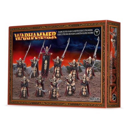 Games Workshop Age of Sigmar Aelves Darkling Covens: Black Guard/Executioners