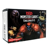 D&D 5th Edition Monster Cards: Challenge 0-5