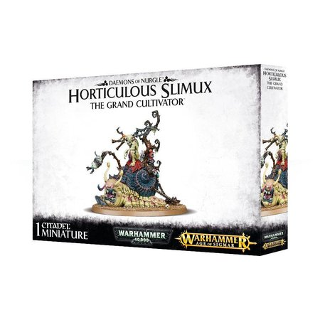 Games Workshop Age of Sigmar/Warhammer 40,000 Daemons of Nurgle: Horticulous Slimux, the Grand Cultivator