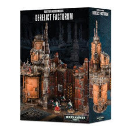 Games Workshop Warhammer 40,000 Terrain: Sector Mechanicus - Derelict Factorum