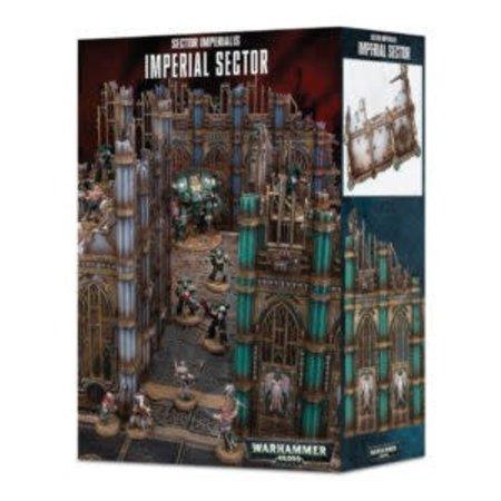 Games Workshop Warhammer 40,000 Terrain: Sector Mechanicus - Imperial Sector