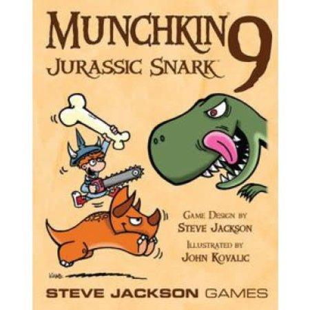 Steve Jackson Games Munchkin 9: Jurassic Snark (Eng) - Uitbreiding