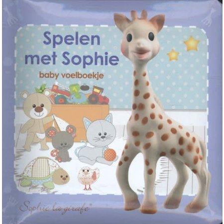 Sophie de Giraf Sophie de Giraffe Spelen met Sophie boekje