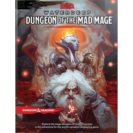 Wizards of the Coast D&D 5th Edition Adventures: Waterdeep Chapter 2 - Dungeon of the Mad Mage