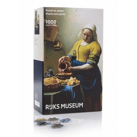 Puzzelman De Keukenmeid - Johannes Vermeer (Rijksmuseum) (1000)