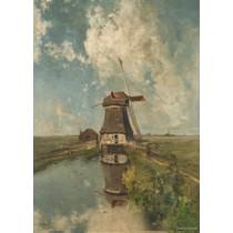 Rijksmuseum: Molen (1000)