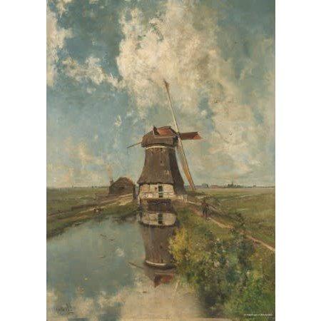Puzzelman Rijksmuseum: Molen (1000)